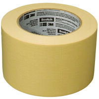 "Scotch Masking Tape, 3"" x 60Yds"