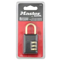 Master Lock 647D Compact Resettable Combination Padlock
