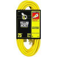 Yellow Jacket 2883 SJTW Extension Cord With Powerlite Indicator Plug