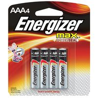 Energizer E92BP-4 Non-Rechargeable Alkaline Battery