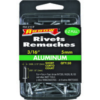Aluminum Short Rivet, 3/16""