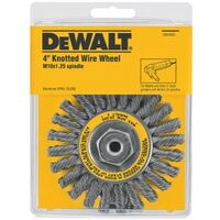Cable Twst Wire Brush Wheel, 4""