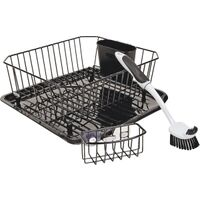 Sinkware Set, Black 4 Pc