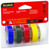 Assorted Colored Electrical Tape