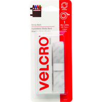 Velcro Tape, 18&quot; White