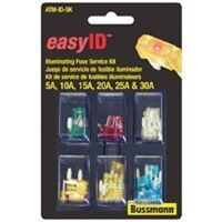 Easy ID Automotive Blade Fuse Assortment, 36 Pc