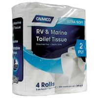Camco 40274 Fast Dissolving Biodegradable Toilet Tissue