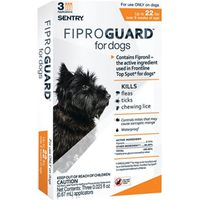 Sentry 02950 Fiproguard Flea and Tick Squeeze-On