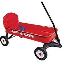 Radio Flyer 93B Ranger Wagon With Seat Belt