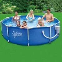Metal Frame Pool Kit 12' x 30""