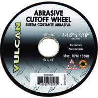 "Abrasive Cut Off Wheel, 4 1/2"" x 1/16"""