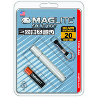 Maglite Solitaire Flashlight, 1AAA Silver
