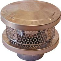 American Metal 6HS-RCS Insulated Chimney Cap