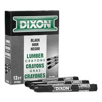 Dixon Ticonderoga 49400 Extruded Hexagonal Lumber Crayon