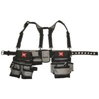 Extreme Mullet Buster Framers Tool Belt with Suspenders
