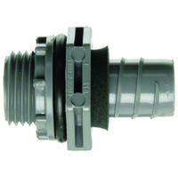 Liquid Tight Straight Connector, 3/4""