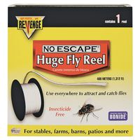 Bonide Revenge 46140 Non-Toxic Sticky Fly Tape Huge Reel Kit