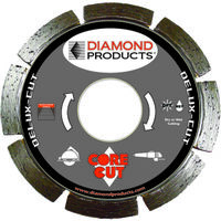 Deluxe Cut Segmented Saw Blade, 6""