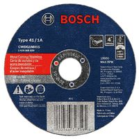 Bosch CWDG1M415 Type 1A Straight Cutting Cut-Off Wheel