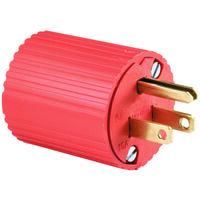 Three Wire Thermoplastic Plug, 15 Amp