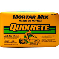 Quikrete Mortar Mix, 80 Lb