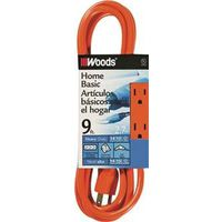 Coleman 872 SJTW 3-Outlet Power Tap Extension Cord