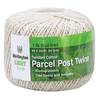 Twisted Cotton Postal Parcel Twine, 300'