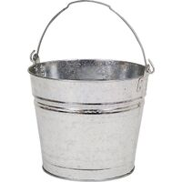 Galvanized Metal Water Bucket, 12 Qt