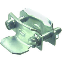Non Metallic 2Pc Clamp Connector, 3/4-1""