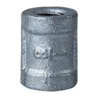 World Wide Sourcing 21-1/8G Galvanized Malleable Coupling