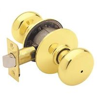 PLYMOUTH PRIVACY KNOB BRT BRSS