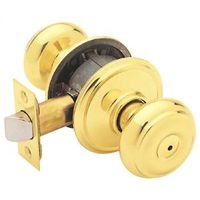 GEORGIAN PRIVACY BRIGHT BRASS