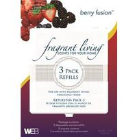 Fragrant Living WSDR-BF Berry Fusion Refill Air Freshener