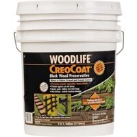Creocoat Wood Preservative, 5 Gal Black