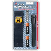 Mini Maglite M2A01H Combination Water Resistant Flashlight