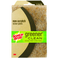 Greener Clean Non-Scratch Natural Fiber Scour Pad