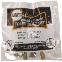 Harvey 051150 Toilet Bolt Set