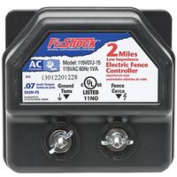 Fi-Shock EA2M-FS Low Impedance AC Powered Electric Fence Charger