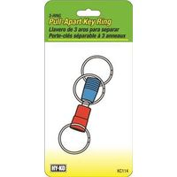 Hy-Ko KC114 3-Way Pull Apart Key Ring