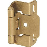 Amerock BP7550BB Self-Closing Partial Wrap Around Cabinet Hinge