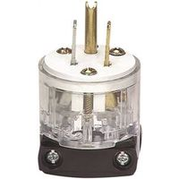Cooper WD8266 Grounded Hospital Grade Electrical Plug