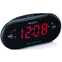 CLOCK ALARM LED W/BLUE TOOTH