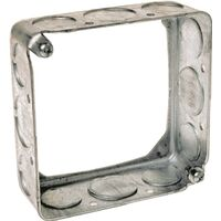 "Electrical Box Extension Ring with Knock Outs, 1/2"" x 3/4"""