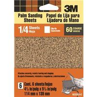 3M 9222NA Clip-On Palm Sanding Sheet