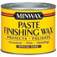 Paste Finishing Wax, Dark Wood