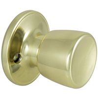 KNOB DUMMY TS POLISHED BRASS