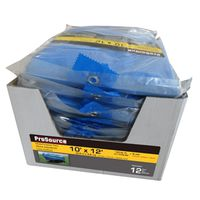TARP BLUE 12PC W/DSPLY 10X12FT