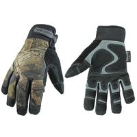 Waterproof Winter Camo Gloves, XL
