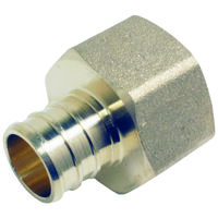 Adapter Pex 3/4in Brass Female