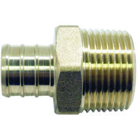 Adapter Pex 1in Brass Male